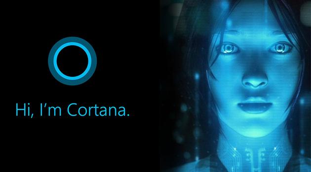 Скриншоты русcкоязычной Кортаны (Cortana)