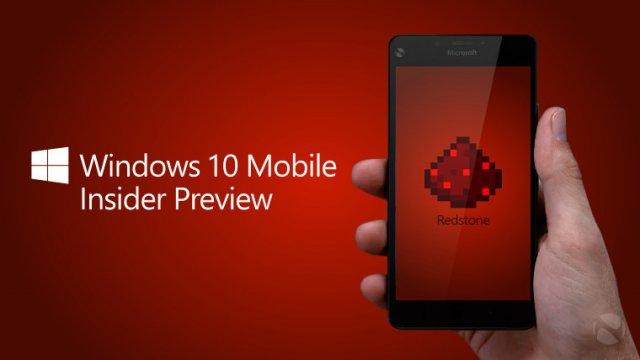 Redstone пока не появится на телефонах с Windows Phone 8.1