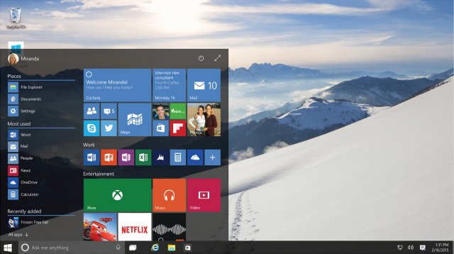 Пресс-релиз сборок Windows 10 Insider Preview 14271 и Mobile 14267.1004