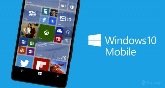 Пресс-релиз сборки Windows 10 Mobile Insider Preview 14283