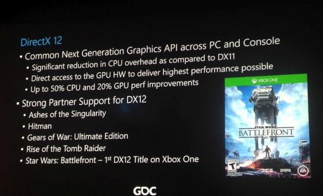 Microsoft на GDC 2016 – успех Windows 10, слияние Xbox Store и Windows Store, DirectX 12