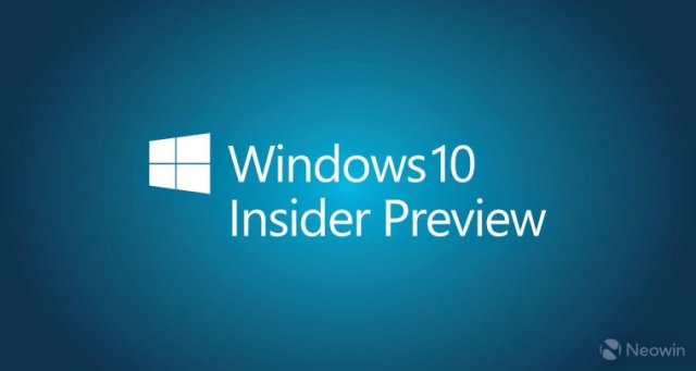 Пресс-релиз сборки Windows 10 Insider Preview 14295 для ПК и смартфонов