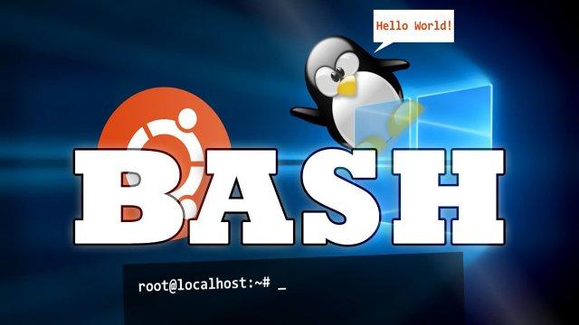 Как включить Bash в Windows 10