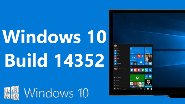 Изменения в Windows 10 Build 14352 – Cortana, Game DVR, Windows Ink