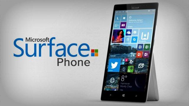 Первая детальная информация о Surface Phone