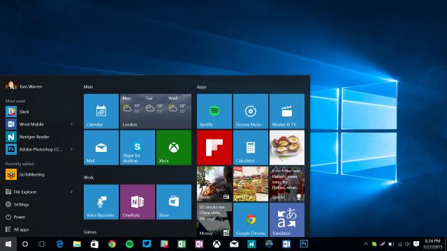 Как настроить меню «Пуск» в Windows 10