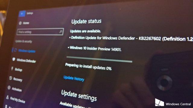 Доступна для загрузки Windows 10 Build 14901 – первая сборка Redstone 2