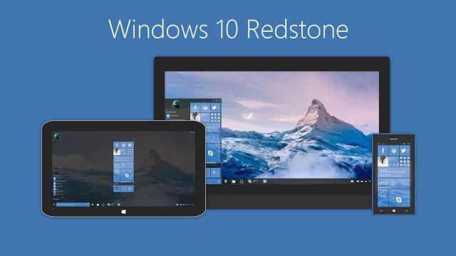 Microsoft уже работает над Redstone 2 и Redstone 3