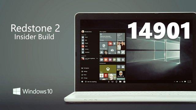 Windows 10 Build 14901 – первая сборка Redstone 2