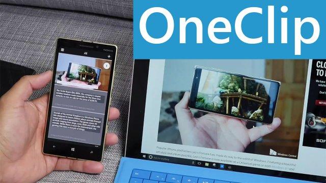 OneClip – копируем на ПК, а вставляем на смартфоне