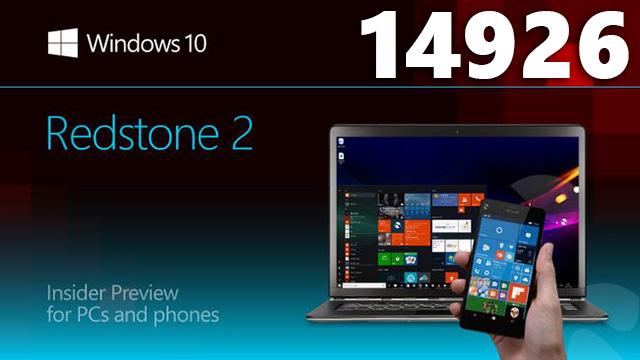 Windows 10 Build 14926 – PIN-код ввести теперь гораздо проще