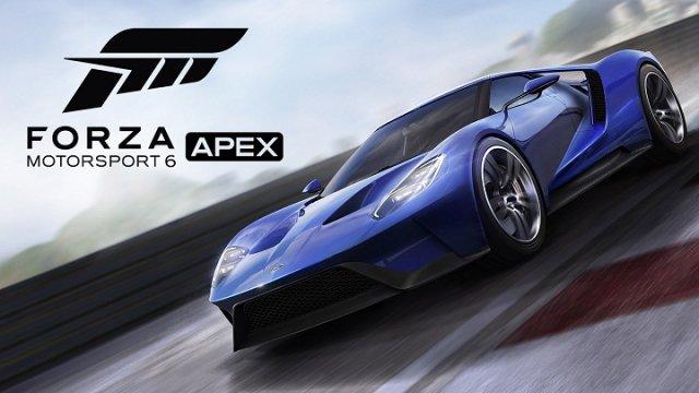 Microsoft завершила бета-тест Forza Motorsport 6: Apex