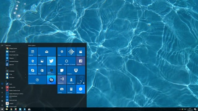 Доступна для загрузки Windows 10 Build 14926