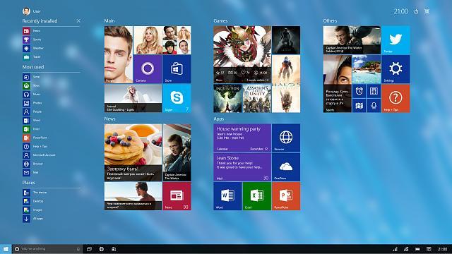Ожидается выход новой сборки Windows 10 под номером 14941