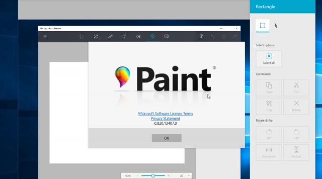 UWP Paint Preview – новое универсальное приложение Paint