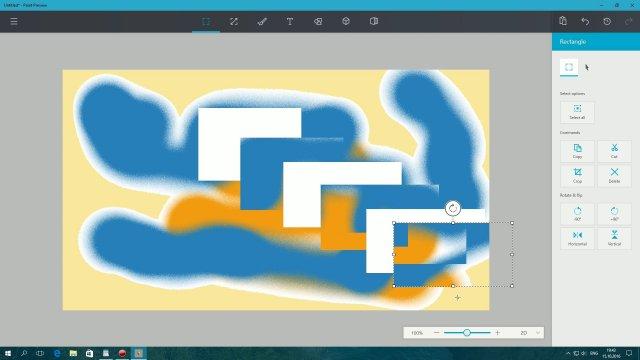 UWP Paint – универсальный графический редактор