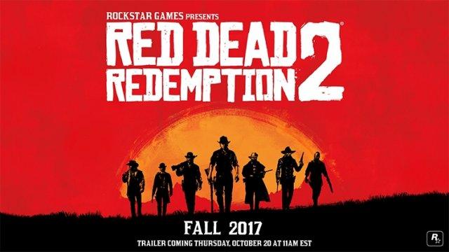 Red Dead Redemption 2 официально анонсирован