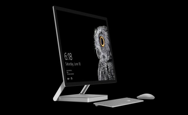 Microsoft анонсировала компьютер Surface Studio