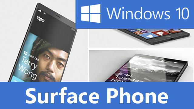 Surface Phone должен будет запускать полноценную Windows 10
