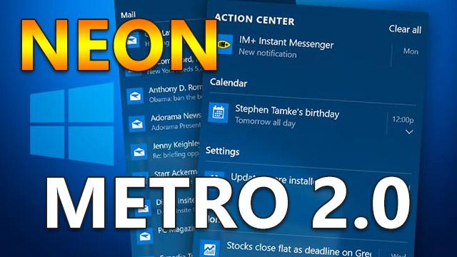Microsoft работает над Metro 2.0 (Neon)