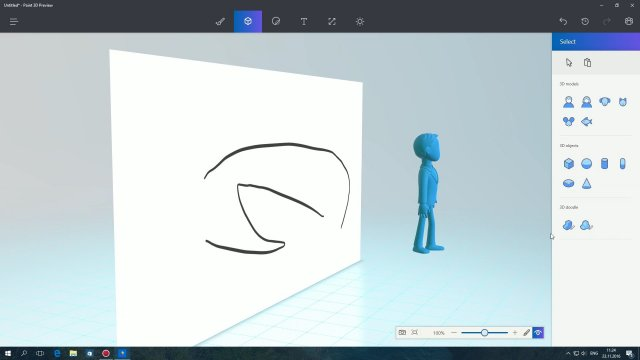 Paint 3d для windows 10