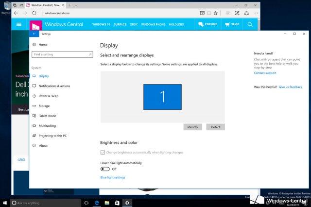 В Сети появилась сборка Windows 10 Build 14997 с новыми функциями