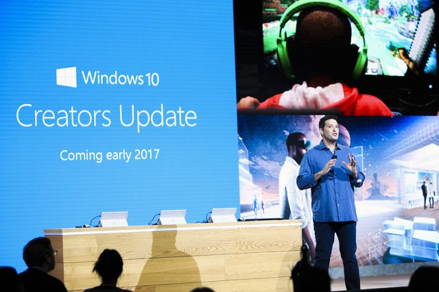 Появление Windows 10 Creators Update должно состояться в апреле