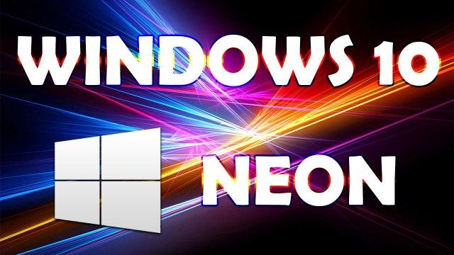 Neon – новый интерфейс Windows 10