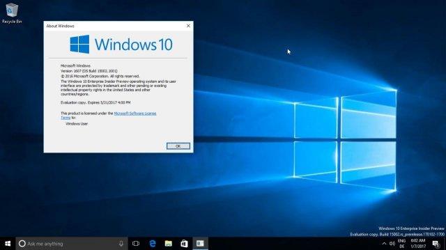 Инструкция по внедрению WIM-файла сборки Windows 10 Build 15002
