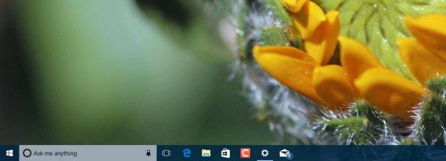 Windows 10 Build 15014 – Cortana, Цвета, Темы