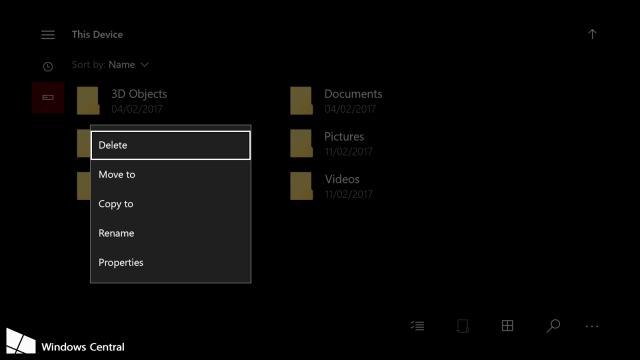 Универсальный проводник из Windows 10 Mobile появится на Xbox One