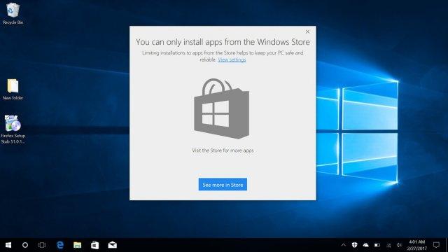 Windows 10 в обновлении Creators Update можно заставить работать как Windows RT