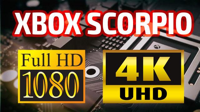Xbox Scorpio покажет улучшенную графику на телевизорах с Full HD