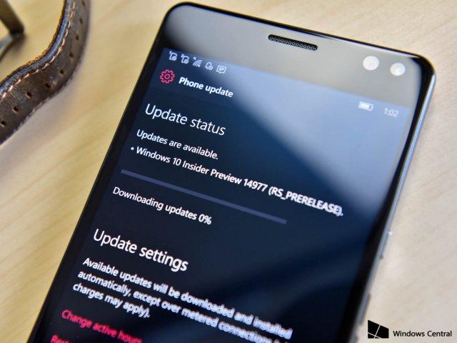 Microsoft выпускает сборку Windows 10 Mobile под номером 15043 в канале «Поздний доступ»