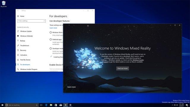 Windows 10 Cloud не будет работать со смешанной реальностью