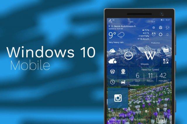 Почти финальная сборка Windows 10 Mobile Creators Update Emulator Image доступна для скачивания