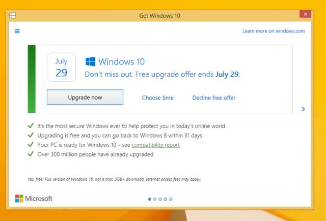 Microsoft снова судят за продвижение Windows 10
