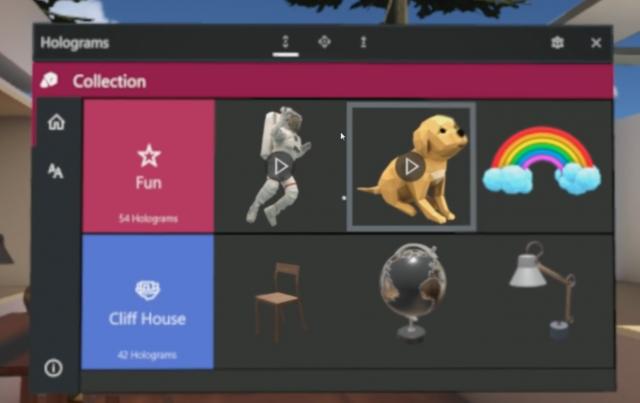 Microsoft выпускает новое приложение Holograms для Windows Mixed Reality на Windows 10