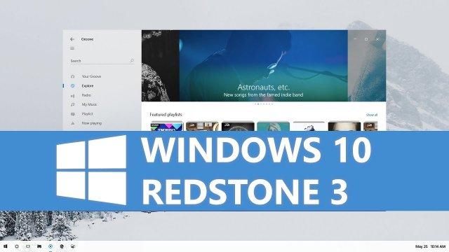 Microsoft готовит первые публичные сборки Windows 10 Redstone 3