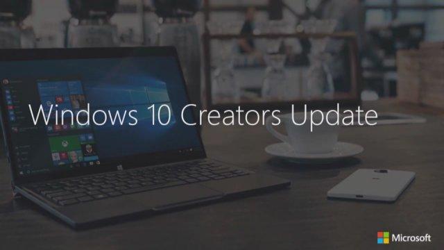 Новые возможности Creators Update