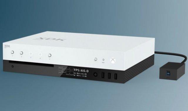 Первый взгляд на комплект средств разработки Xbox Scorpio