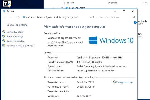 Windows 10 на ARM