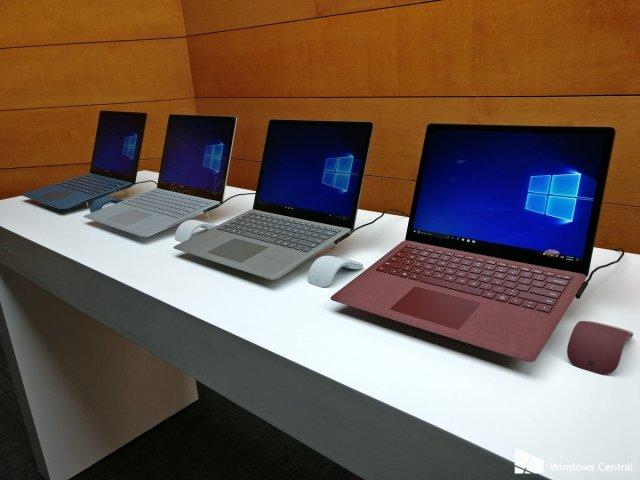 Представлен ноутбук Microsoft Surface Laptop
