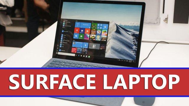 Первый взгляд на Surface Laptop