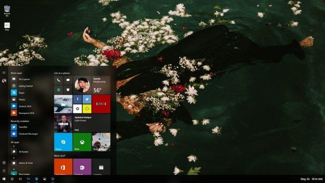 Дизайн NEON в Windows 10 будет называться Fluent Design System