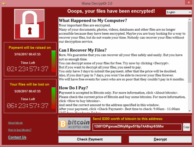 Всё, что нужно знать о приложении-вымогателе WannaCry