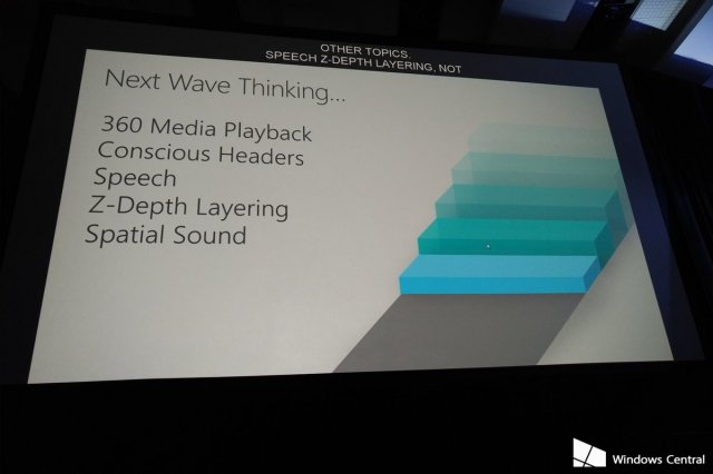 Microsoft показала ось Z в Fluent Design System