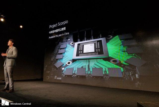 Приставка Xbox Scorpio появится в Китае в конце года