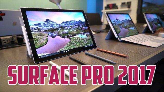 Первое впечатление от Surface Pro 2017
