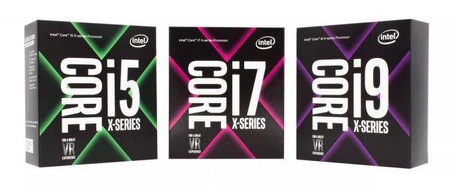 Intel анонсировала процессоры Core X, в том числе 18-ядерный